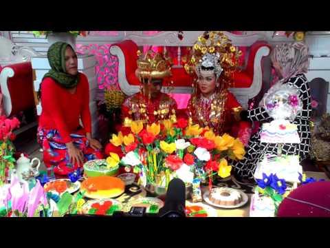 Pernikahan adat melayu - Melayi Batu Bara - Sumatera Utara