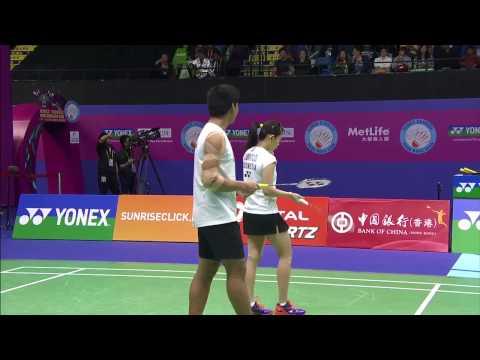 Yonex Sunrise Hong Kong Open 2016 | Badminton F M2-XD | Ahm/Nat vs Jor/Sus Mp3