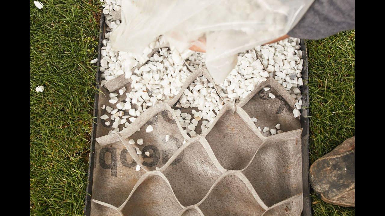 Come Costruire Un Giardino Di Ghiaia : Video guida sentiero carrabile folénde giardini in pietra