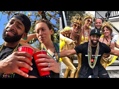 SORRY I WAS DRUNK - EXPERIENCES OVER THINGS - MARDI GRAS 2018