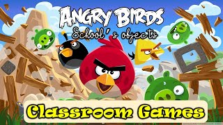 Angry Bird Classroom Game Grammar Focus-What's this? Free Worksheets Online Class Interactive  Game