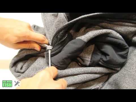 How to Replace a Locking Zipper | Simms Columbia North Face Arc'teryx Stomr Mountain Hardware