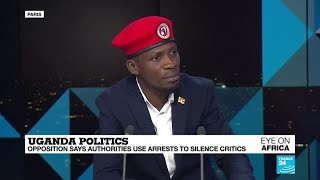 Bobi Wine 'seriously considering' presidential run, Ugandan opposition icon tells FRANCE 24