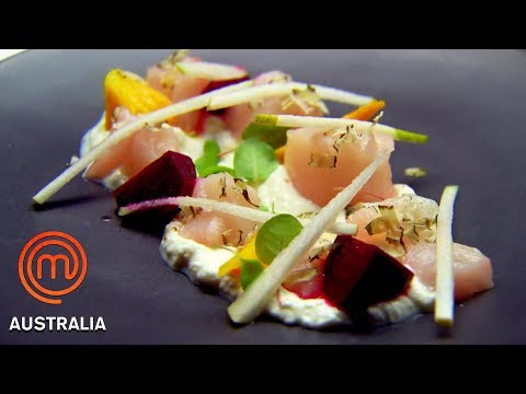 Preparing A 3 Course Meal From Memory | MasterChef Australia | MasterChef World