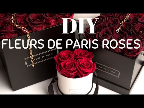 diy-$1-store-luxury-rose-box//fleurs-de-paris-inspired♡