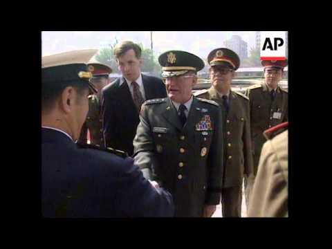 CHINA: US JOINT CHIEFS OF STAFF GENERAL JOHN SHALIKASHVILI VISIT