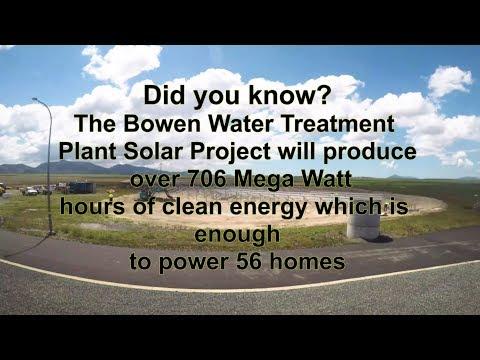 Bowen Water Treatment Plant Solar Project