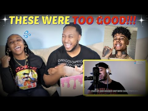 Azerrz  Hit Rap Songs in Voice Impressions! SICKO MODE, Mo Bamba, Bleed it) REACTION!!