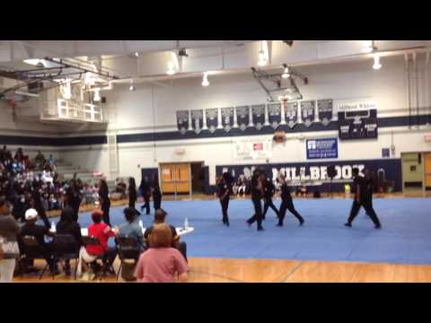 Alpha Omega 1st place NC State Step Show (Sanderson High School)