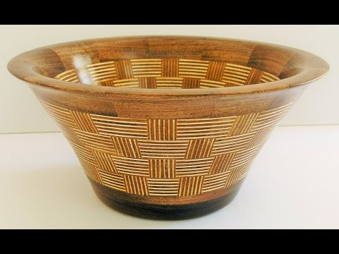 Woodturners Journal: Turning a Baltic Birch Plywood Bowl part 1