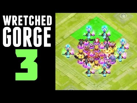 Castle Clash: Wretched Gorge 3
