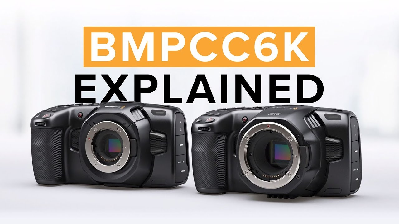 Blackmagic Pocket Cinema Camera 6K - Body Only
