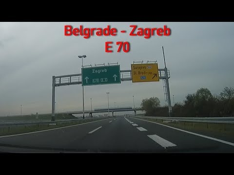 A3/E70 Belgrade - Zagreb 2x Speed