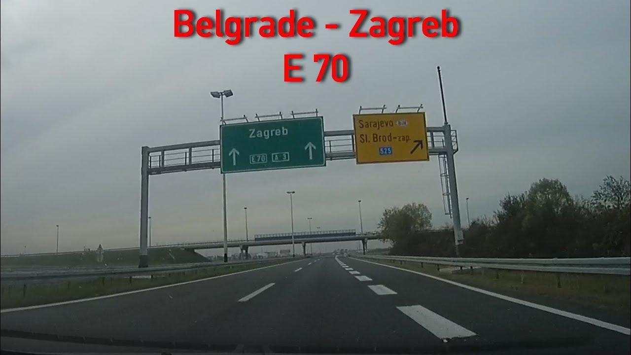 A3 E70 Belgrade Zagreb 2x Speed Youtube