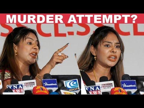 Big Clash Between Sri Reddy & Reporters!