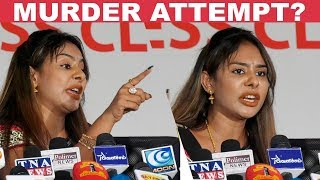 Big Clash Between Sri Reddy & Reporters!