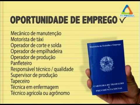 (JC 08/09/16) Vagas de trabalho setor de empregos PMV