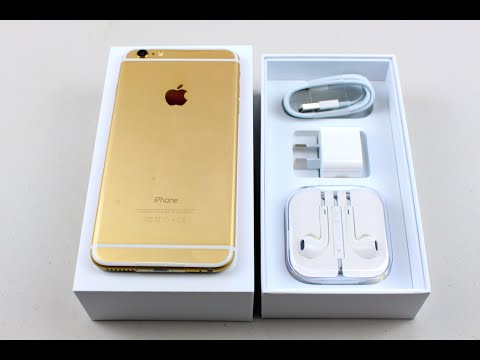 iphone 6 plus unboxing 128gig gold edition youtube. Black Bedroom Furniture Sets. Home Design Ideas