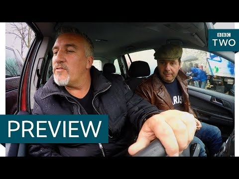 Navigating Paris' Arc de Triomphe in a Citroen DS - Paul Hollywood's Big Continental Road Trip - BBC