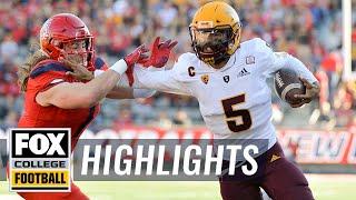 Arizona State vs. Arizona | FOX COLLEGE FOOTBALL HIGHLIGHTS