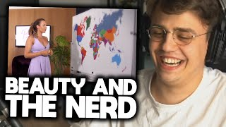 Papaplatte reagiert auf BEAUTY and the NERD 🤣👌🏼 (Part 2) | Papaplatte Highlights