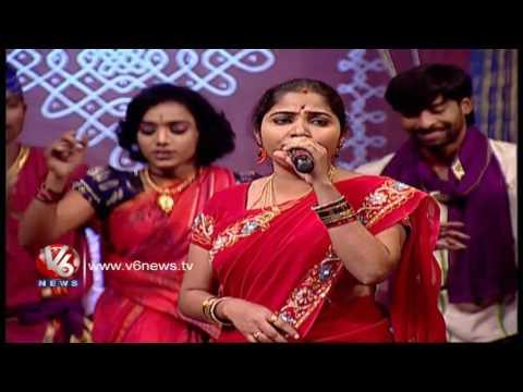 Nagali Dunneti Bangaru Maridi Song | Telangana Folk Songs | Dhoom Thadaka | V6 News