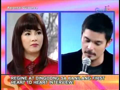 Showbiz Central Heart To Heart Interview - Regine Velasquez - Alcasid And Dingdong Dantes..