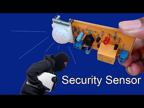 installing-passive-infrared-sensor-using-for-home-security
