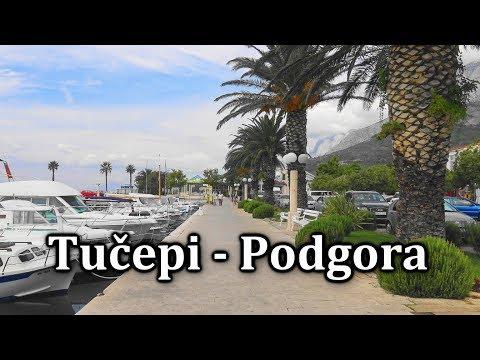 Tučepi - Podgora. Croatia | 4K