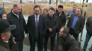 В Якутске появился новый автобус с подъемником для перевозки людей с ограниченными возможностями(, 2016-09-27T07:24:06.000Z)