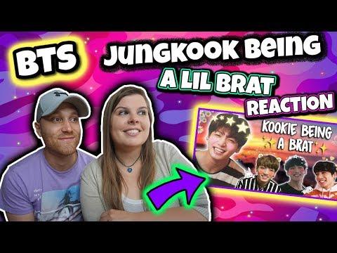 jungkook being a lil brat BTS REACTION
