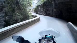 KTM 1190 Adventure - Italien 2014 - Brasa Schlucht
