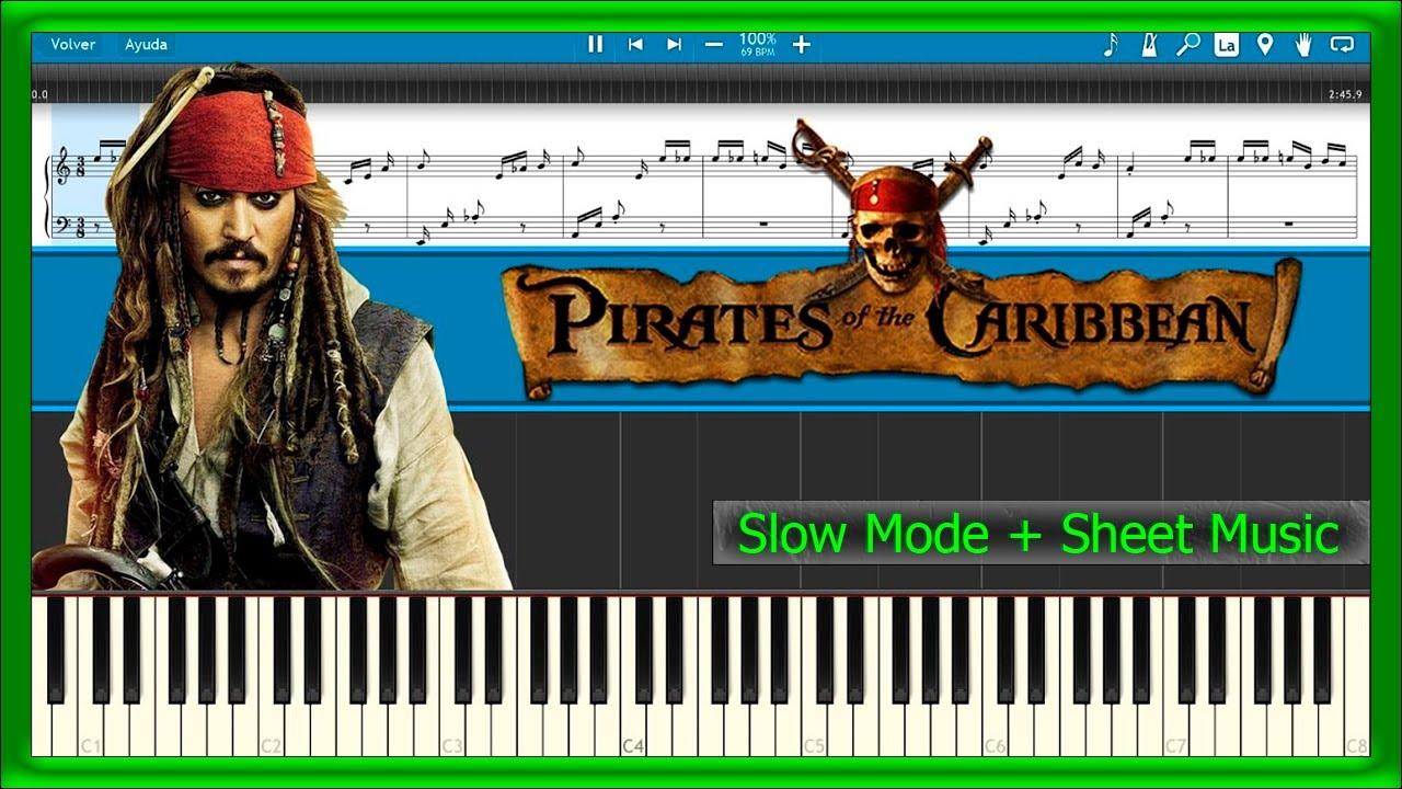 pirates of the caribbean medley piano sheet music pdf