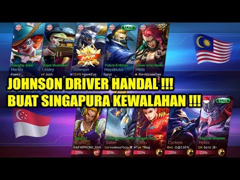 Johnson Driver Handal !!! Buat SINGAPURA kewalahan Hadapi MALAYSIA Arena Contest