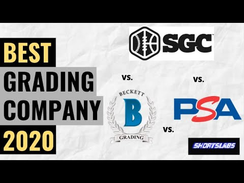 BGS Vs PSA Vs SGC - Who Is The Best Grading Company In 2020?