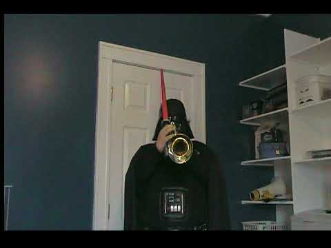 Darth Vader Plays Imperial March(Darth Vader's Theme) on trumpet