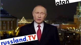 Putins Neujahrsansprache 2017 (deutsch synchronisiert)
