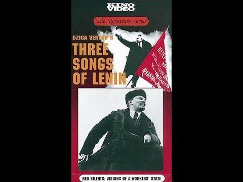 VERTOV, Dziga - Três Canções Para Lenin (1934) [Filme Completo] [Legenda PT-BR]