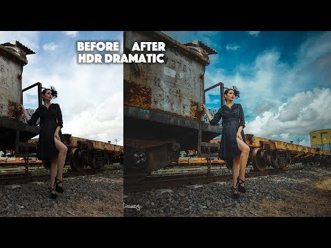 Dramatic Contrast HDR Effect | Photoshop Tutorial