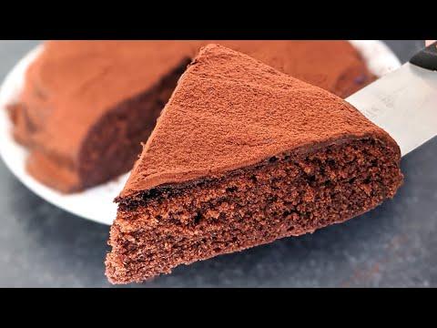 gâteau-au-chocolat-sans-four-/-recette-rapide-et-facile