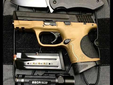 s w m p 9c compact 9mm pistol review youtube