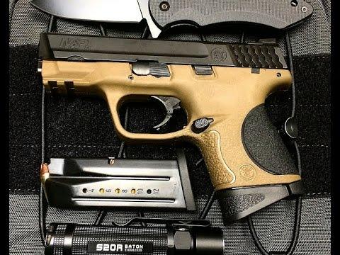 S&W M&P 9C Compact 9mm Pistol Review