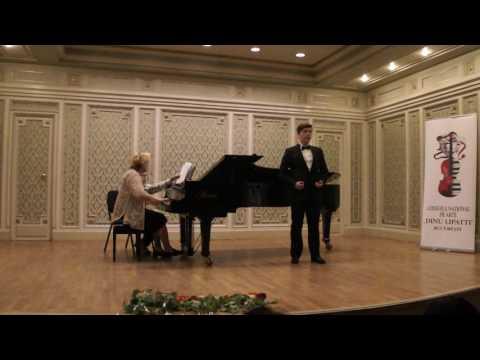 """Iustin Rabusapca - Aria lui Figaro din opera """"Il Barbiere di Seviglia"""" de G. Paisiello"""