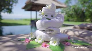 'Panganjali' Towel Art Tutorial | AYANA Resort and Spa, BALI