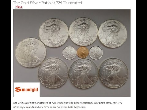 Why The Gold Silver Ratio Doesn't HAVE to Return to 16 to 1