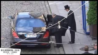 Bilderberg meeting - June 2016 Dresden - Germany - NO New world order
