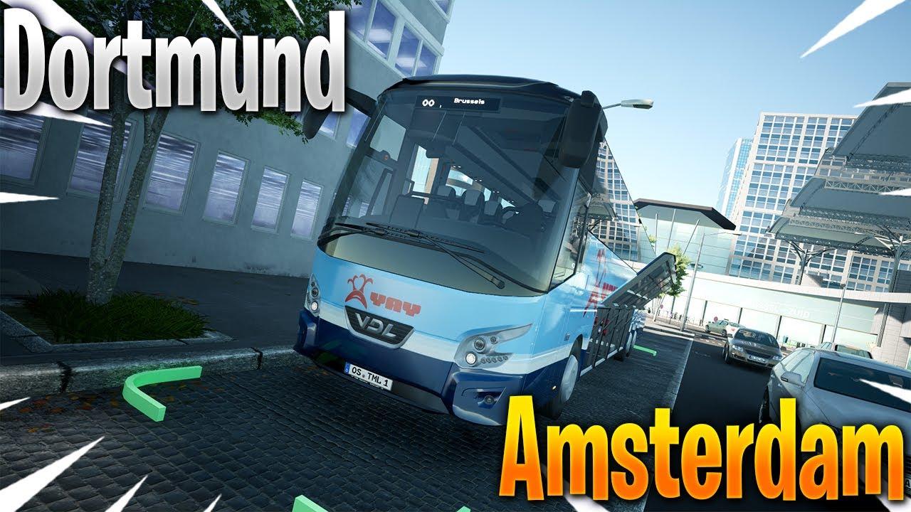 HELP!!! IK SPIN OP DE SNELWEG!! - Fernbus Simulator