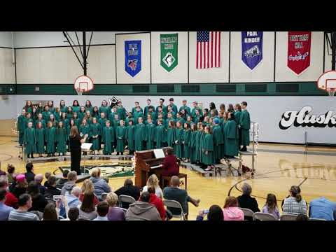 Moreland Ridge Middle School 8th grade honors choir