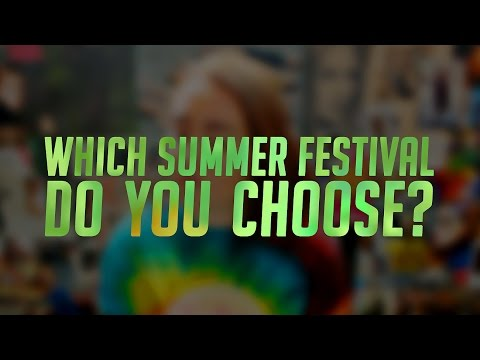 EUROPEAN SUMMER MUSIC FESTIVALS SHOWDOWN 2016