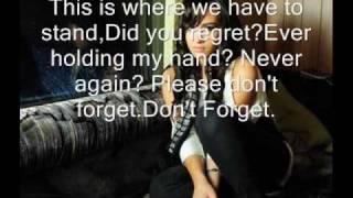Demi Lovato - Don't Forget acoustic (karaoke) Read Description!!!!!!!